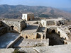 View over Krak Des Chevalier (mortenteglsbo) Tags: des syria chevalier damascus damaskus syrien krak