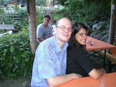 Aldo and Gita, Nino in the background (fitcat) Tags: schweiz switzerland suisse aldo gita svizzera graubunden caspersz trimmis