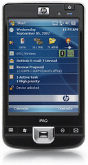HP iPAQ con Windows Mobile