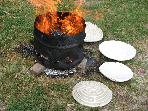 Fire Pit At Homestead