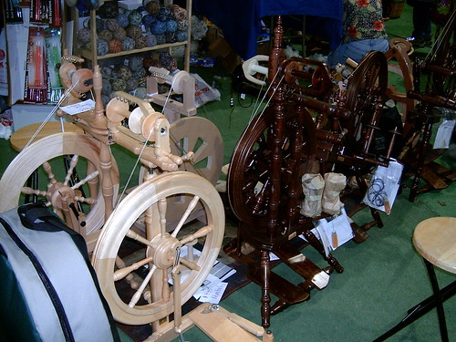 Spinning Wheels - SAFF 2007
