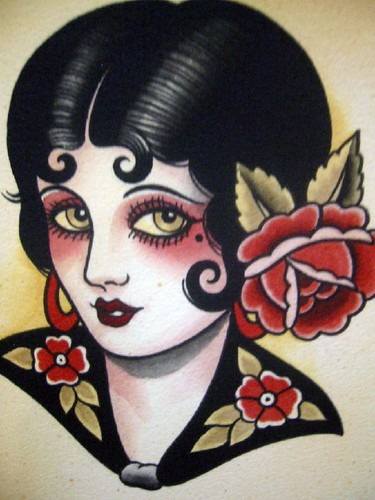 Vintage Tattoo Flash Art 22