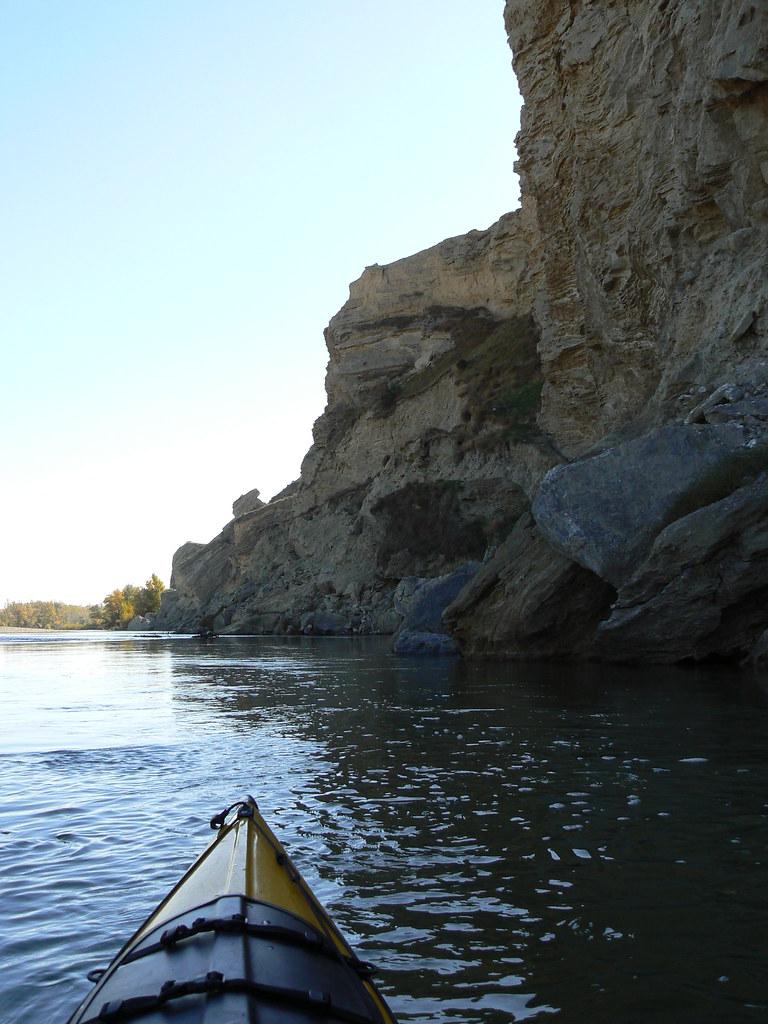 Río Aragón con el Arga en Otoño 022