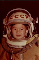 astronaut! (Mashrab B) Tags: me childhood kid astronaut memory spaceman cosmonaut ussr