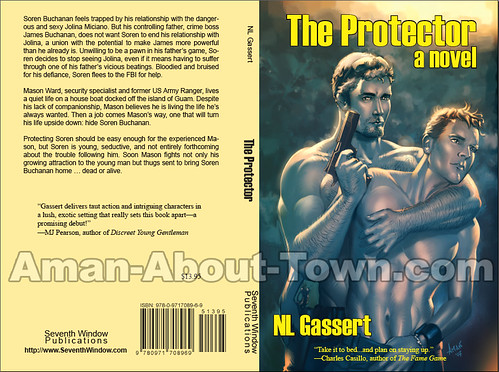The Protector Book Jacket Mock-Up