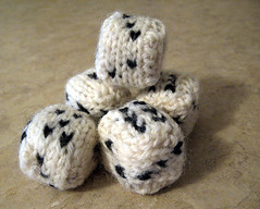 Knitted Dice