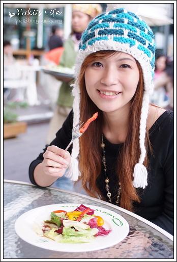 [食]三峽-皇后鎮森林 (下)~浪漫的戶外下午茶好去處