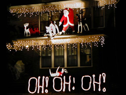Wishing You a Merry Ho! Ho! Ho! Rather Than an Oh! Oh! Oh!