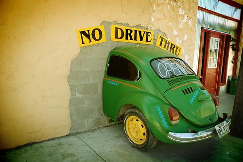 Speaking Of Art, The Fremont Troll Has A VW Beetle For Breakfast In Seattle: