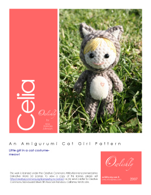 Celia pattern front page