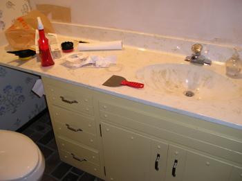 Half-bathroom remodel