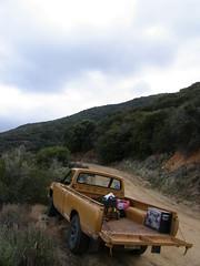 Datsun (kneesamo) Tags: forest angeles pickup national 1973 datsun butterscotch 620 l20b bulletside pl620