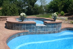 Composite Pools - Lexington Pool & Alexandria Spa - in ground fiberglass pools Chicago, Illinois