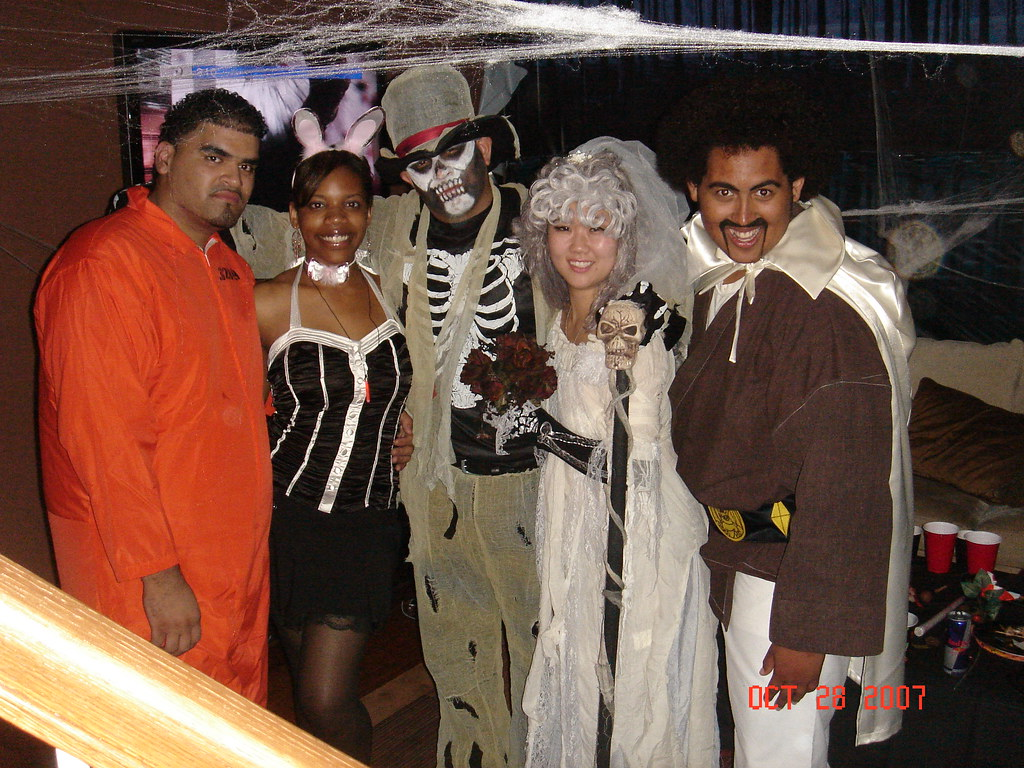 dsc02878 dakandymasta tags party halloween skeleton cosplay zombie undead hispanic prisoner brideandgroom hercule