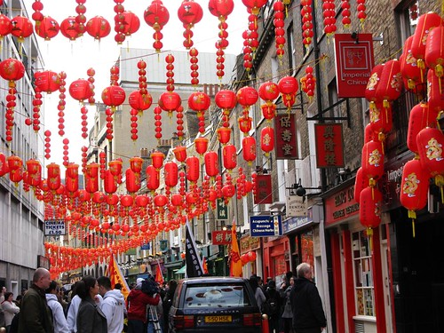 Chinese new year celebration - London 07/02/2008