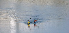 Do (oki_place) Tags: two duo duet canoe dos canoeist canoa piragua piragista