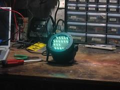 Burned out LEDs