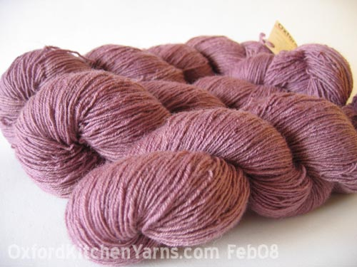 Oxford Kitchen Yarns Sock Yarn: Plums