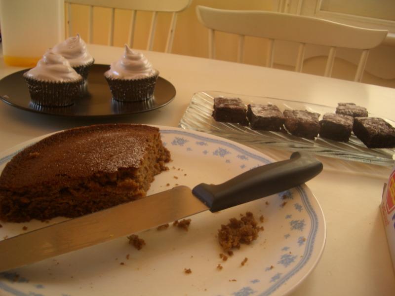 Leftover dessert
