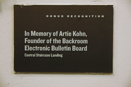 In Memory of Art Kohn