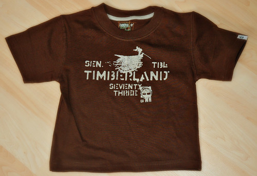 Timberland Toddler Clothes - Brown Tee by mommyknows
