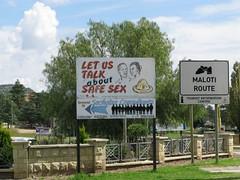 Let us talk about safe sex (TeddyBeer63) Tags: sida lesotho maseru