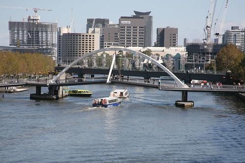 River traffic