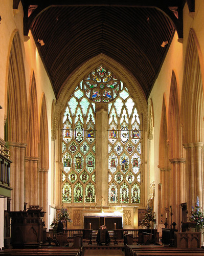 Inside Dorchester Abbey