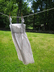 a nightgown that i consider perfectly acceptable to wear as a sundress... (amy bernier) Tags: morning sunlight grass porch clotheslines rosebuds sundresses fortheloveofgreen woodenclothespins printempsprintempsprintemps springtimespringtimespringtime already74degrees beautifulsundays