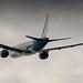 KLM 777-200ER leaving Amsterdam for Osaka