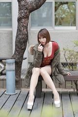 DSC_5585 (錢龍) Tags: 希維亞 小希 文創園區 外拍 beauty sexy nikon d700 girl 短髮