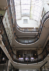 Balconies, Barton Arcade. (Christine Dolan) Tags: arcade architecture indoors manchester