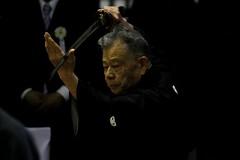 Iaido Enbu /   (RStonell) Tags: japan japanese martialarts sword  kendo katana embu iaido iaijutsu budo  koryu  batto enbu          kyototaikai  zennihonkendoenbutaikai