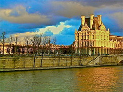 A wing of the Louvre Palace, in France. (Iain Ritchie) Tags: paris france inspire theapprentice hdrish parisinphoto anythingwithwater allphotoswanted louvrepalacewing
