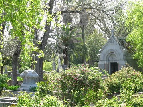 You have to visit the Deep South to find a cemetery as beautiful, and even then...