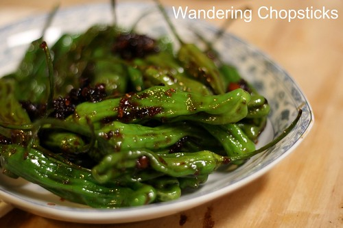 Shisito Peppers with Chinese XO Sauce 2