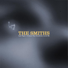 The Smiths - Last Night I Dreamt That Somebody Loved Me (dhammza) Tags: blur eye face disco ojo photo album cara cover portada thesmiths dmr lastnightidreamtthatsomebodylovedme dhammzasmusicrevisited albumcoversrevisited