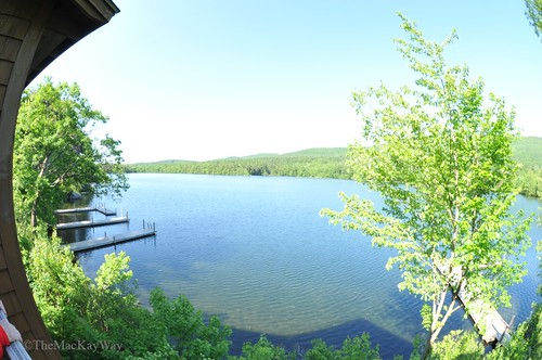 Our lake view at SAW