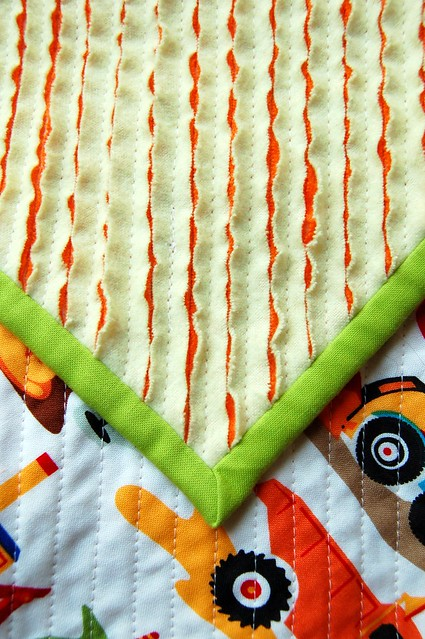 Faux Chenille Boy Blanket