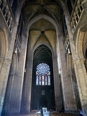 Chartres, Transept looking north