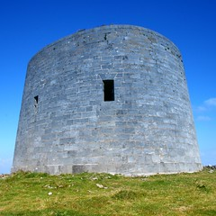 tower of strength or strength of tower (limerickdoyle) Tags: ireland tower defence countyclare martellotower irishcoast efs1785mm canon400d irishscene cokinp122
