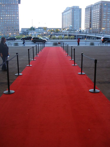 oscars red carpet empty