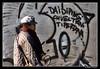 Buonismo graffitaro (Stefano Pizzetti) Tags: street italy woman streetart rome roma walking graffiti italia streetphoto sanlorenzo veltroni graffitistreetart romacaputmundi asinistra rawstreetphotography awritingonthewall nikonclubitalia desafiourbano walkbyshootings altraroma stefanopizzetti