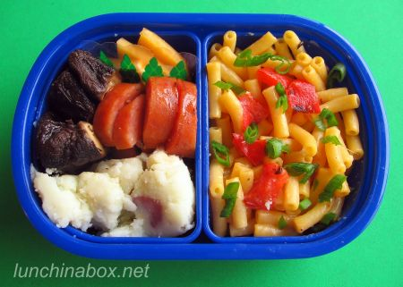 A trio of kid bentos