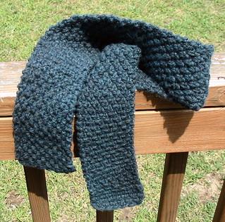Ravelry: Moss Stitch Scarf pattern by Katherine Vaughan