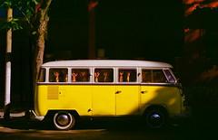 aquela kombi amarela (zenog) Tags: yellow amarela gavea myneighbourhood nikkormatft3 vwkombi naminhacidade