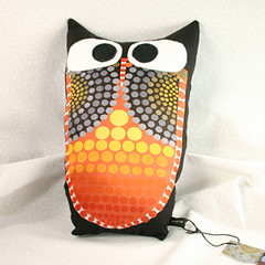 indie fixx owl pillow