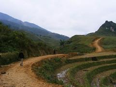 route to Ta Phin. (gumississy) Tags: kids trekking children play vietnam sapa taphin journe