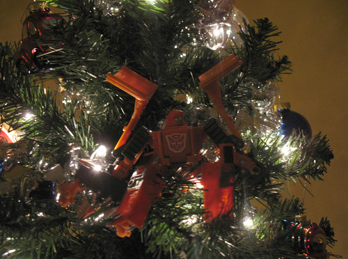 Christmas Prep: Wedge on the tree