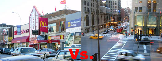 86th St vs Michigan Avenue
